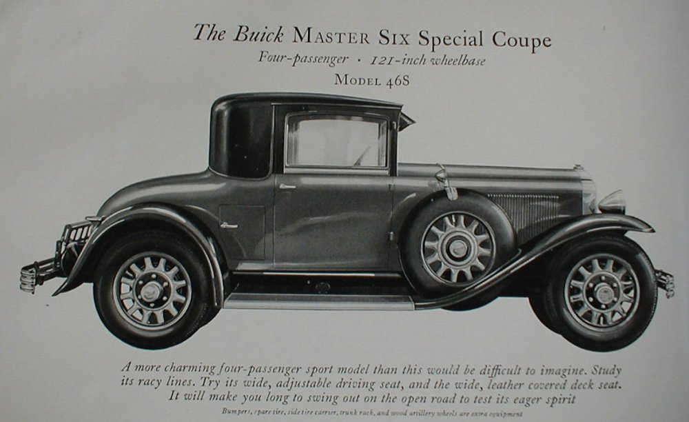medium resolution of 1929 buick model 46s special coupe