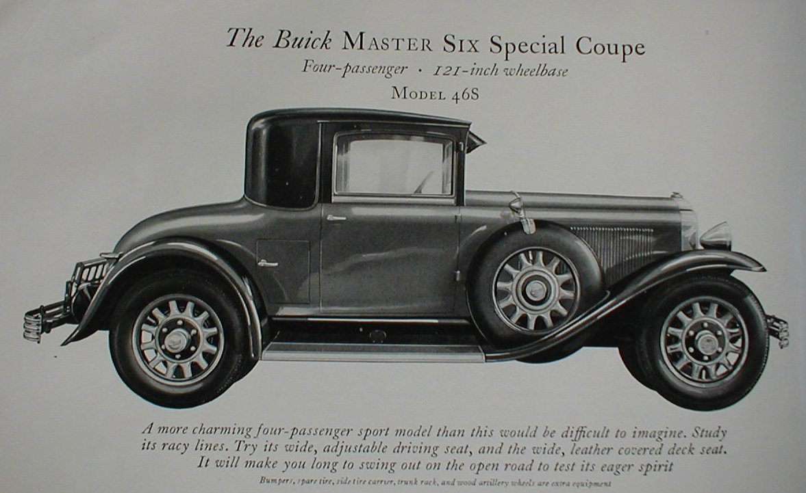 hight resolution of 1929 buick model 46s special coupe