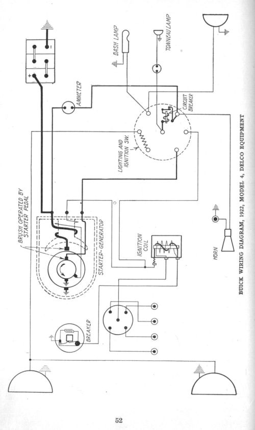 small resolution of early 1920 s apperson and buick wiring diagrams the old car manual 1922 buick model 4 electrical