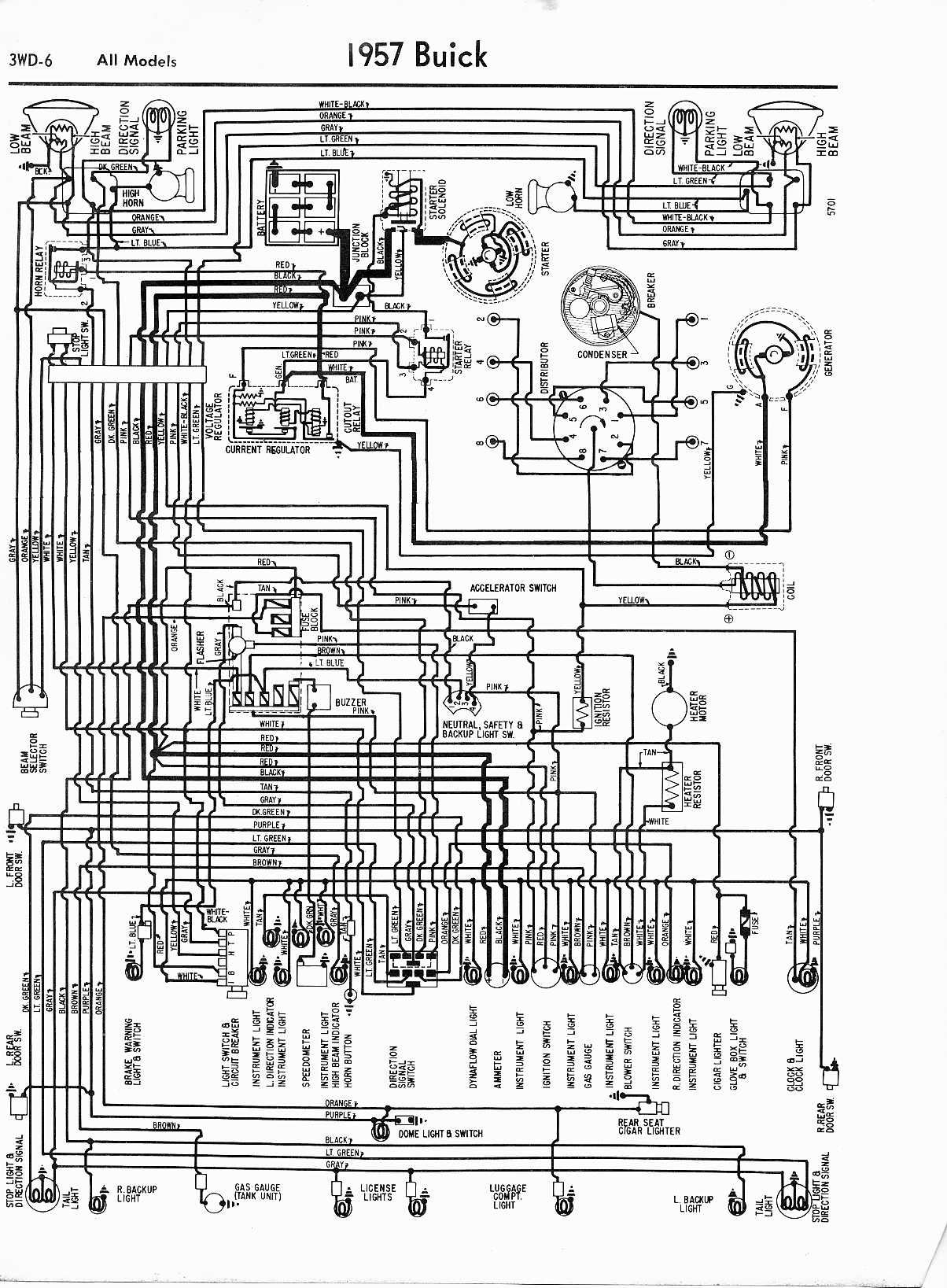 American Wiring Diagram 1972 Chevelle Buick Wiring Diagrams 1957 1965