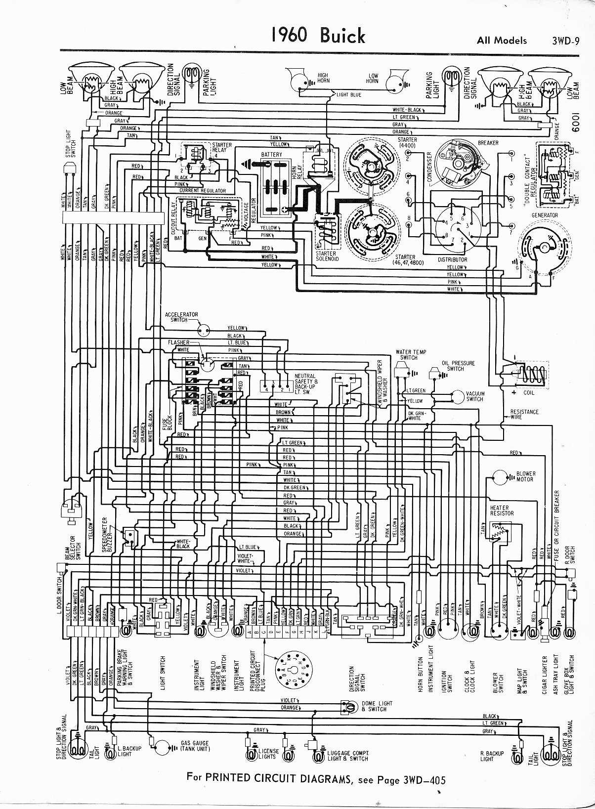 hight resolution of 1960 buick wiring diagram