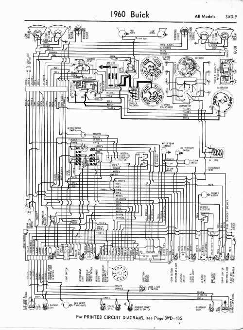 small resolution of 1960 buick wiring diagram