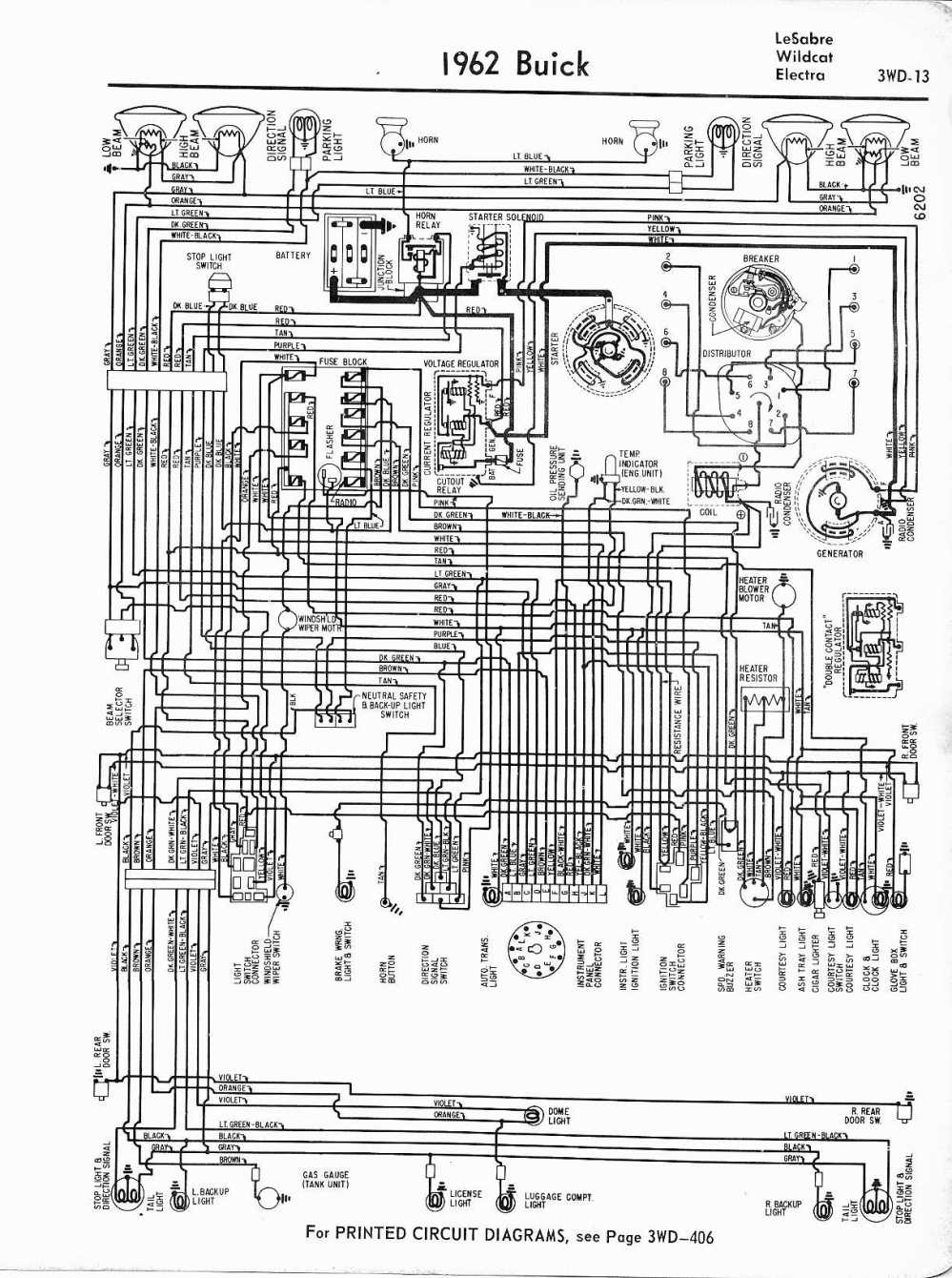 medium resolution of buick wiring diagrams 1957 1965 1966 chevy chevelle wiring diagram 1962 lesabre wildcat electra