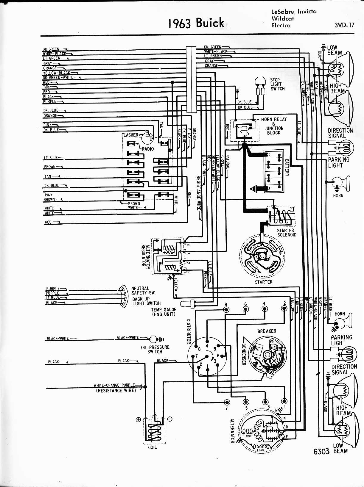 Buick Wiring Diagrams: 1957-1965