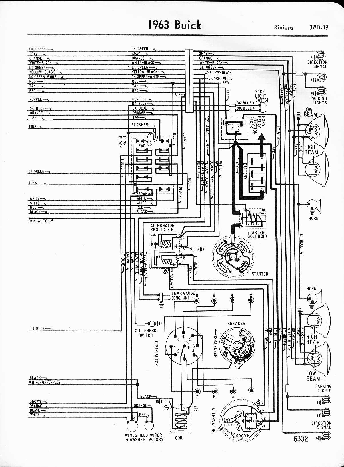 buick stereo wiring diagram 2005 honda civic lx 63 wipers not working riviera owners