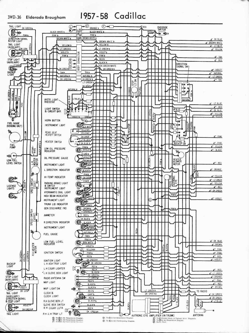 medium resolution of 1962 cadillac wiring diagram wiring diagrams1976 cadillac radio wiring diagram wiring database library 1969 cadillac deville