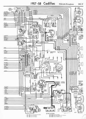 Cadillac Wiring Diagrams: 19571965