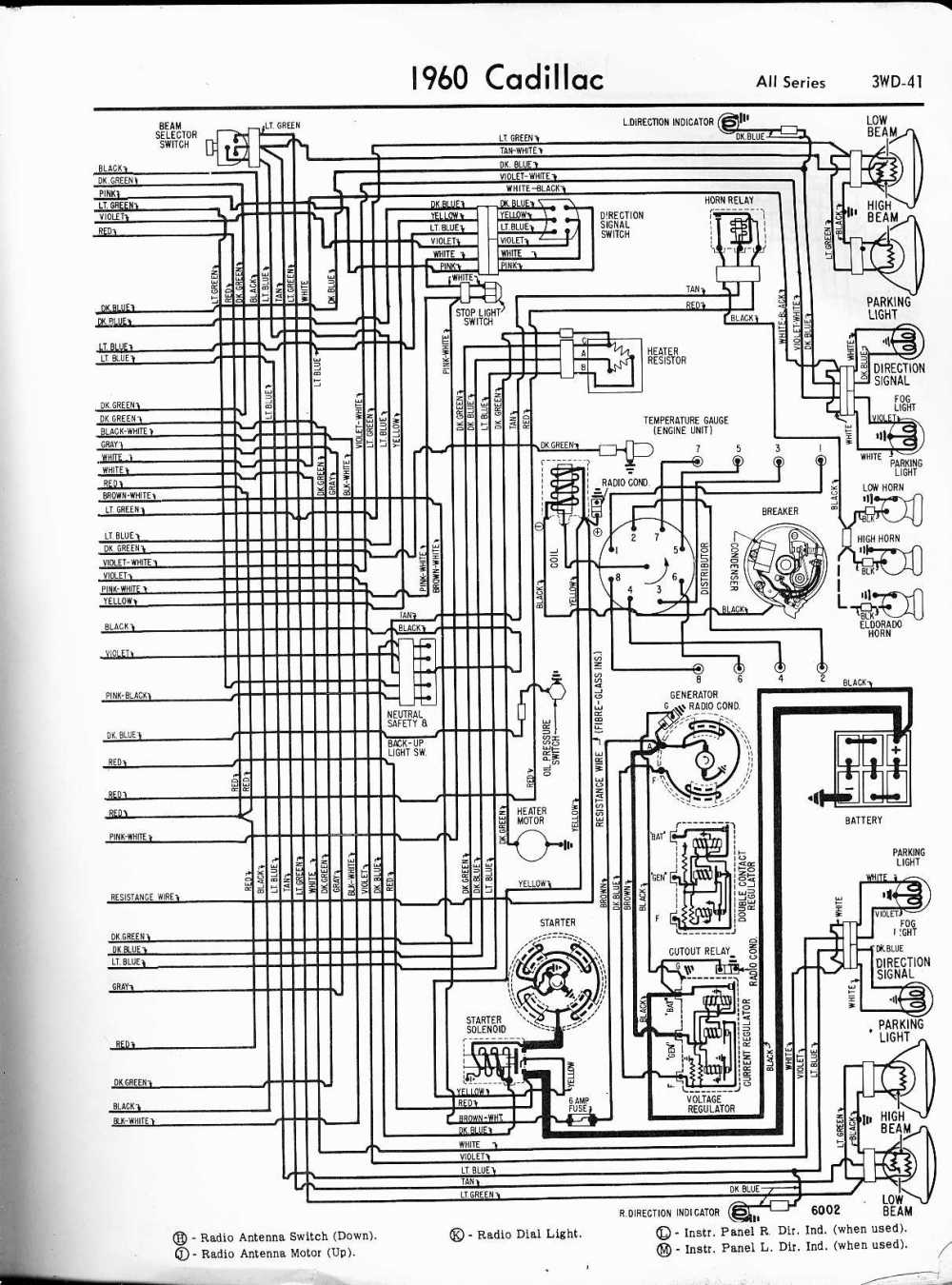 medium resolution of 1960 cadillac wiring harness wiring diagrams konsult 1957 cadillac wiring harness cadillac wiring diagrams 1957 1965