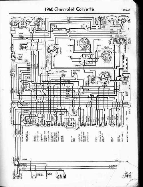 small resolution of 1960 corvette wiring diagram