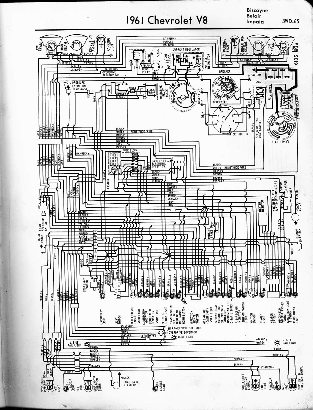 hight resolution of www oldcarmanualproject com tocmp wiring 5765wirin 1961 chevrolet fuse block diagram