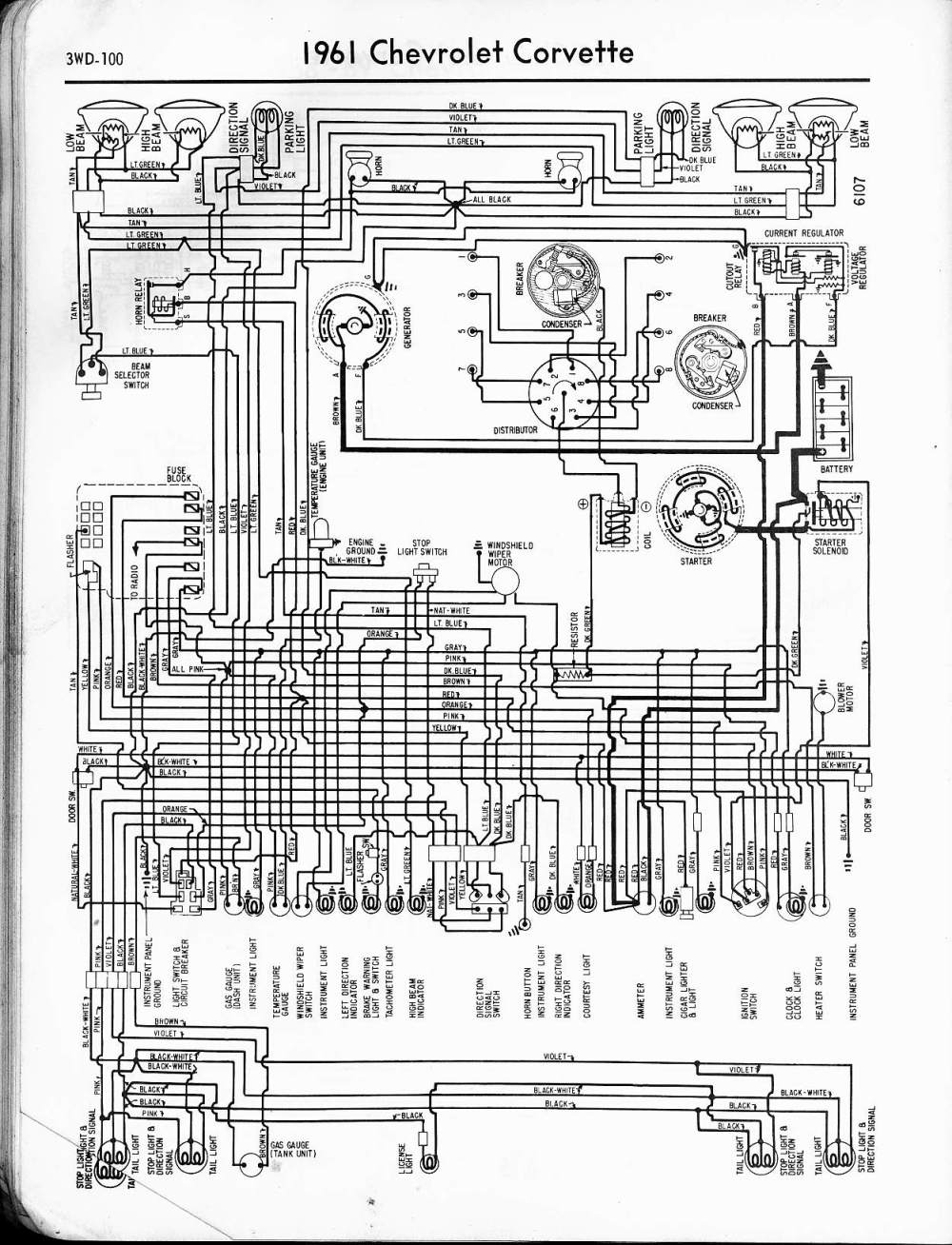 medium resolution of 57 65 chevy wiring diagrams 1961 apache pickup 1961 chevrolet apache wiring diagram