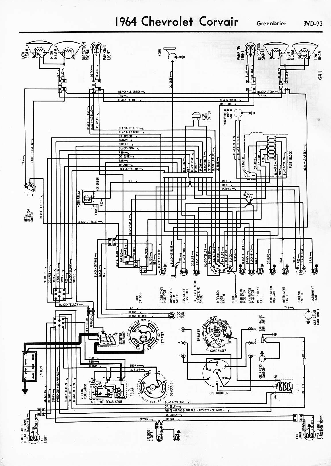 1964 chevy nova wiring diagram 2002 kia sportage exhaust free engine image