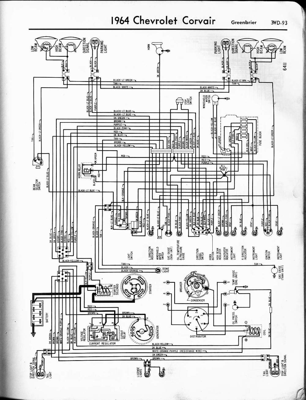 medium resolution of 1966 corvair engine diagram free wiring diagram for you u2022 65 corvair wiring diagram 66 corvair wiring diagram