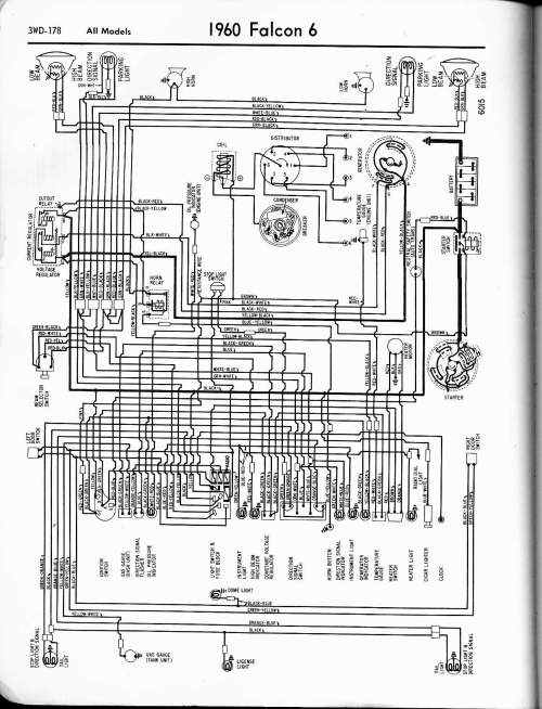 small resolution of 1960 ford wiring diagram wiring diagram review 57 65 ford wiring diagrams 1960 ford f100 wiring