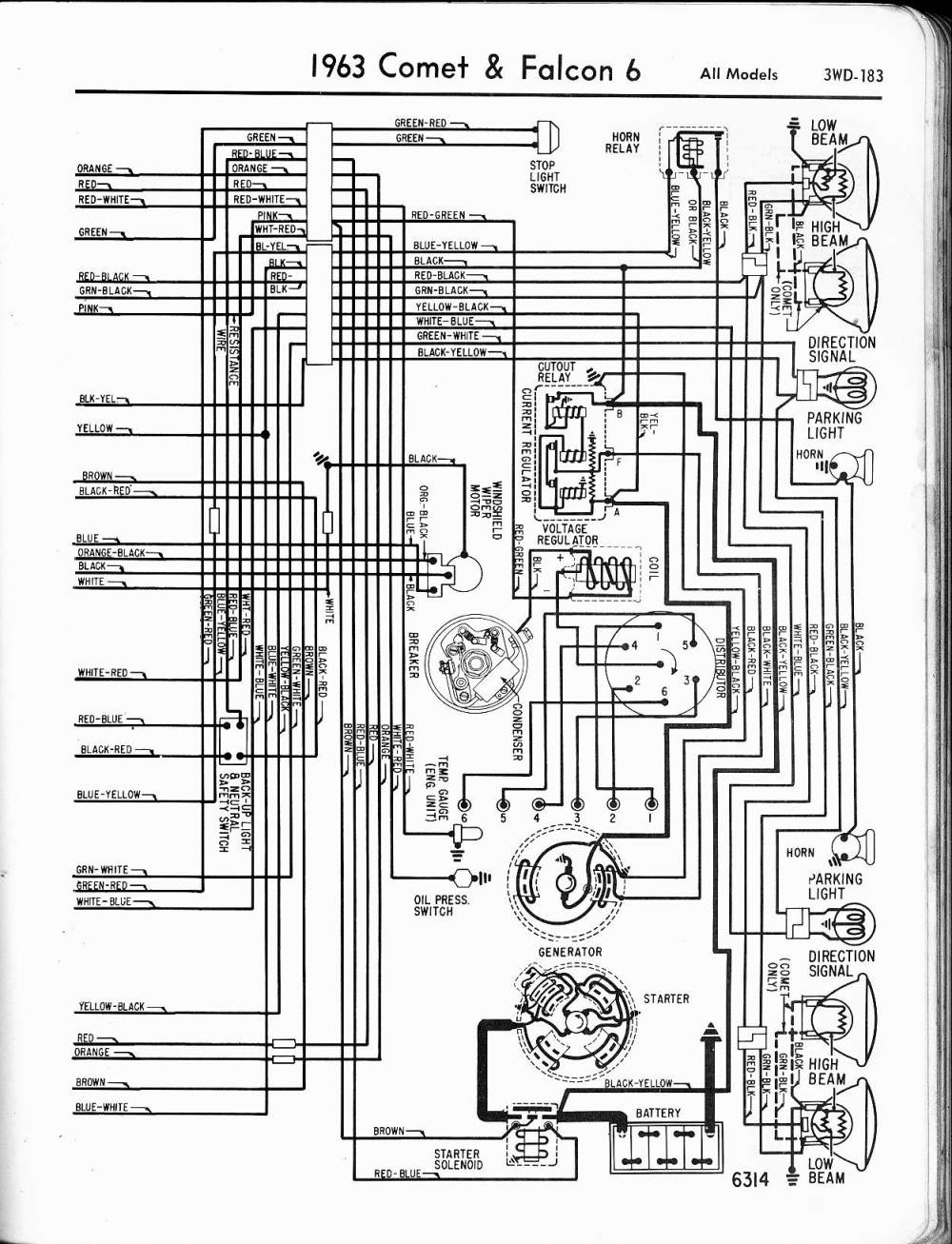medium resolution of 57 65 ford wiring diagrams 1963 ford falcon ignition switch wiring diagram 1963 falcon wiring diagram