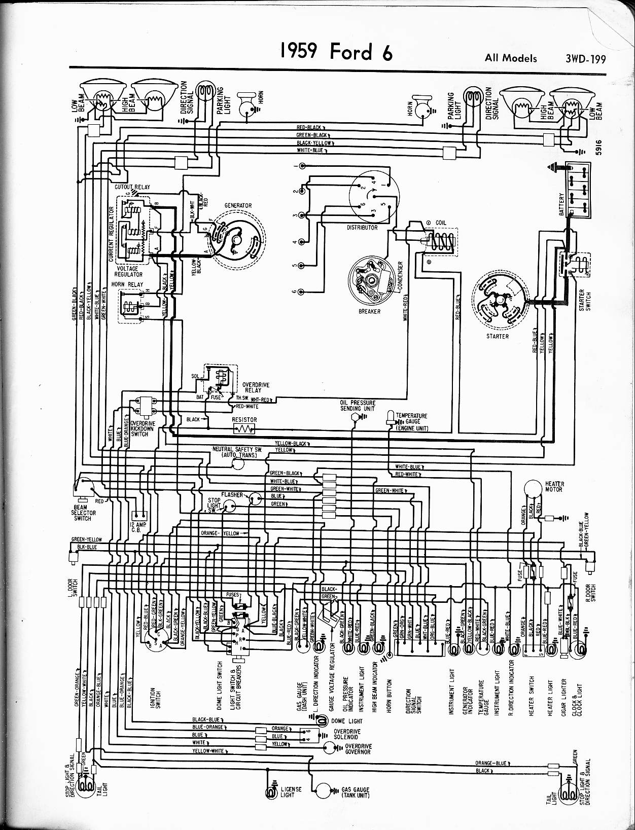 Ford Ranchero Headlight Switch Wiring Diagram