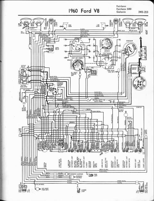 small resolution of 57 65 ford wiring diagrams rh oldcarmanualproject com 1955 ford fairlane wiring diagram ford pinto