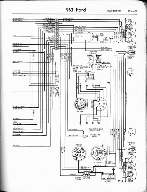 small resolution of 57 65 ford wiring diagrams 69 mustang wiring 1956 thunderbird wiring schematic