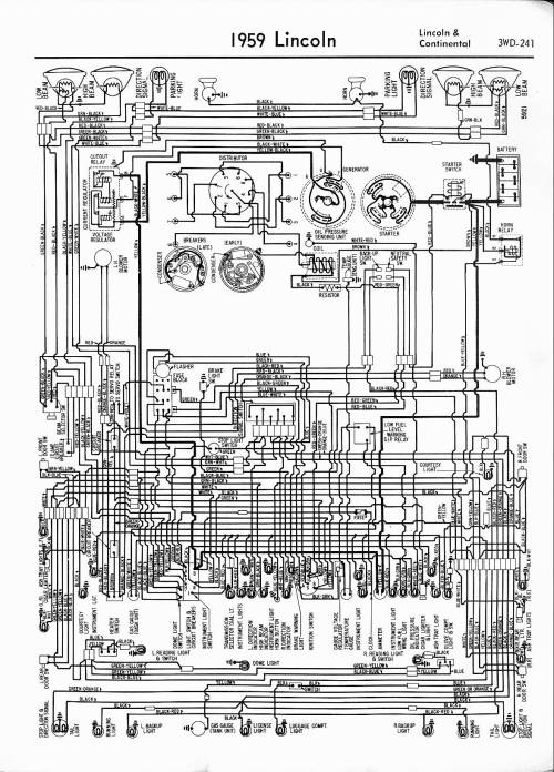 small resolution of 1959 lincoln continental lincoln wiring diagrams