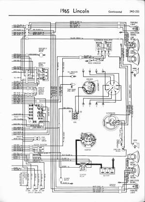 65 Lincoln Wiring Diagram | Wiring Library