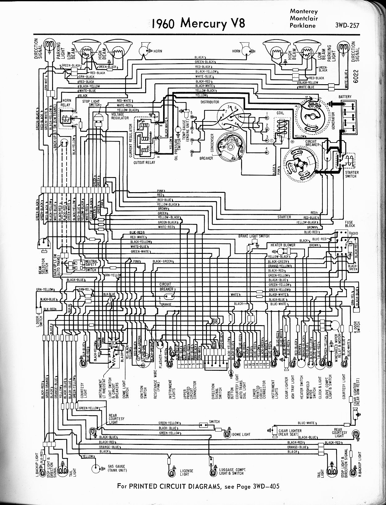 56 Mercury Montclair Wiring Diagram Schematic Diagram Data