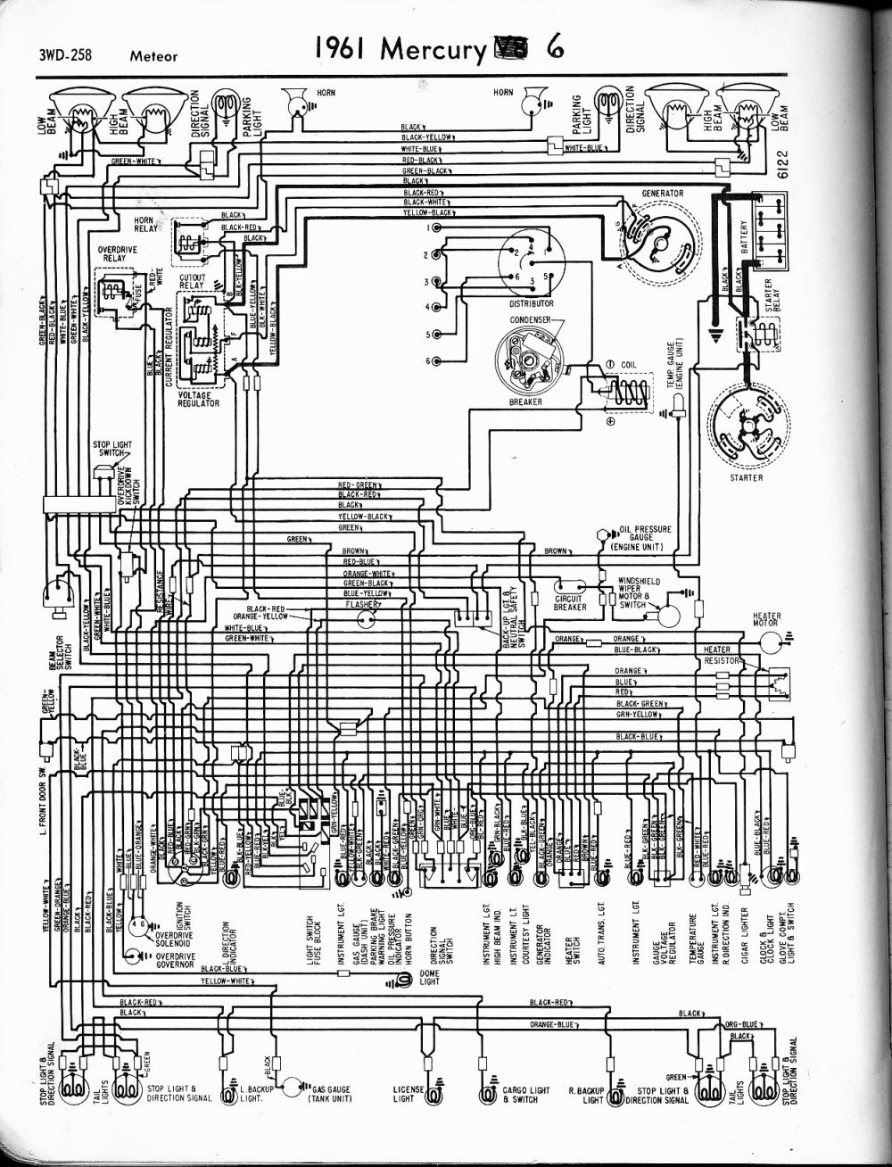 Free Mercury Wiring Diagram 1971 Mustang 1997 Mountaineer Engine Medium Resolution Of 1964 Comet Get Image About 97 Wire