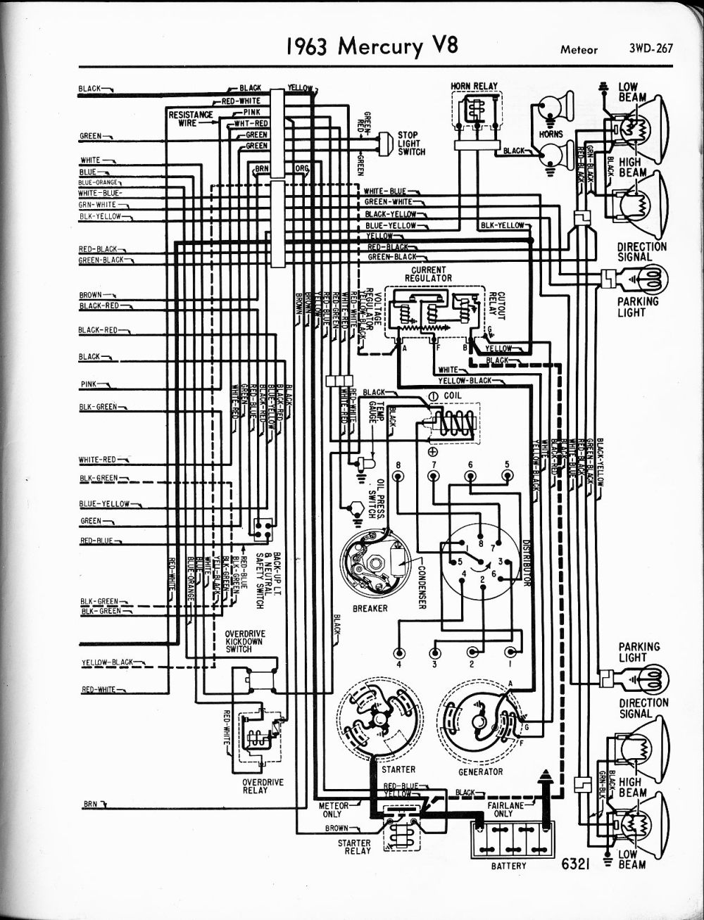 medium resolution of mercury wiring diagrams the old car manual project 1973 chevy c30 van wiring diagram 1978 chevy