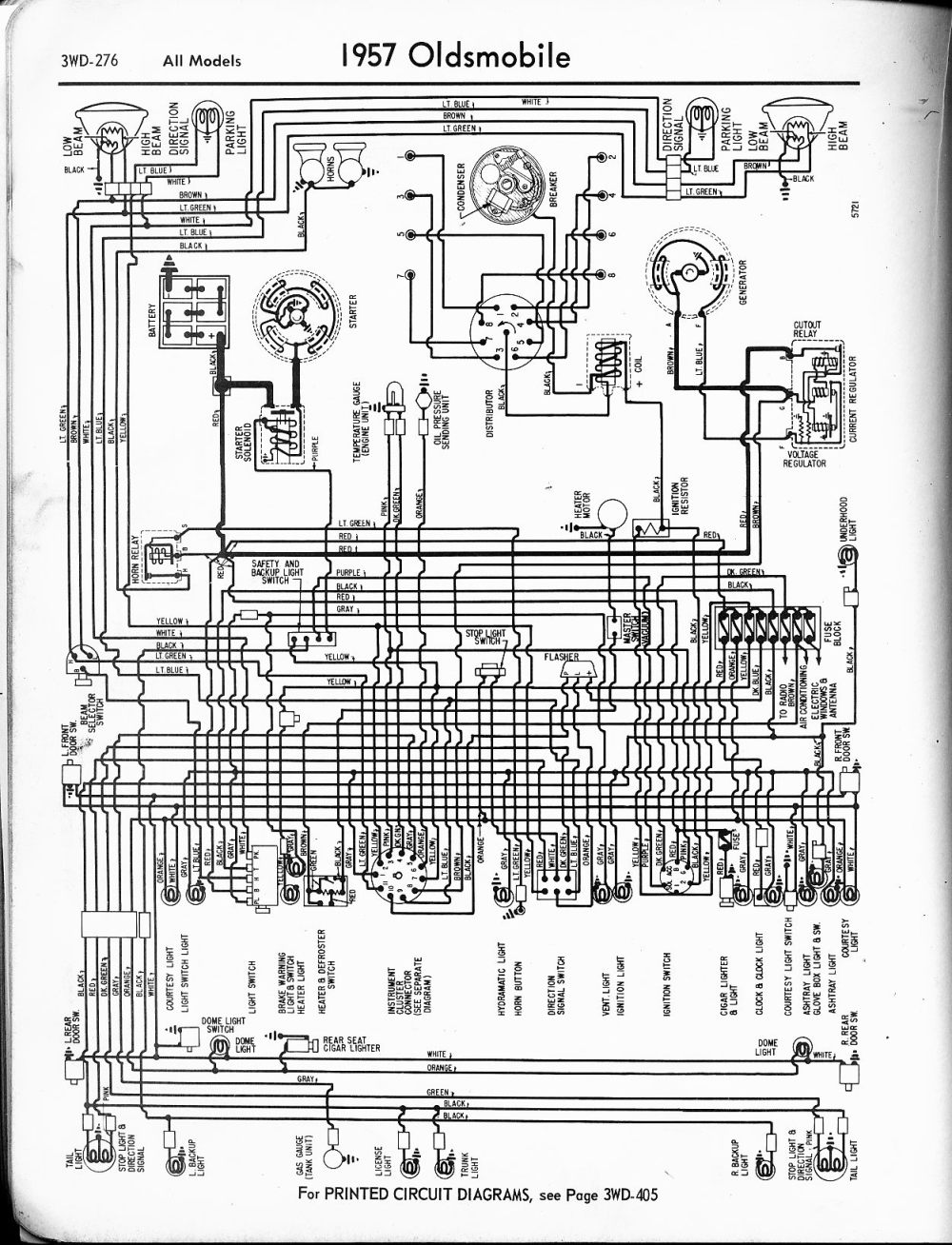 medium resolution of oldsmobile wiring diagrams 1957