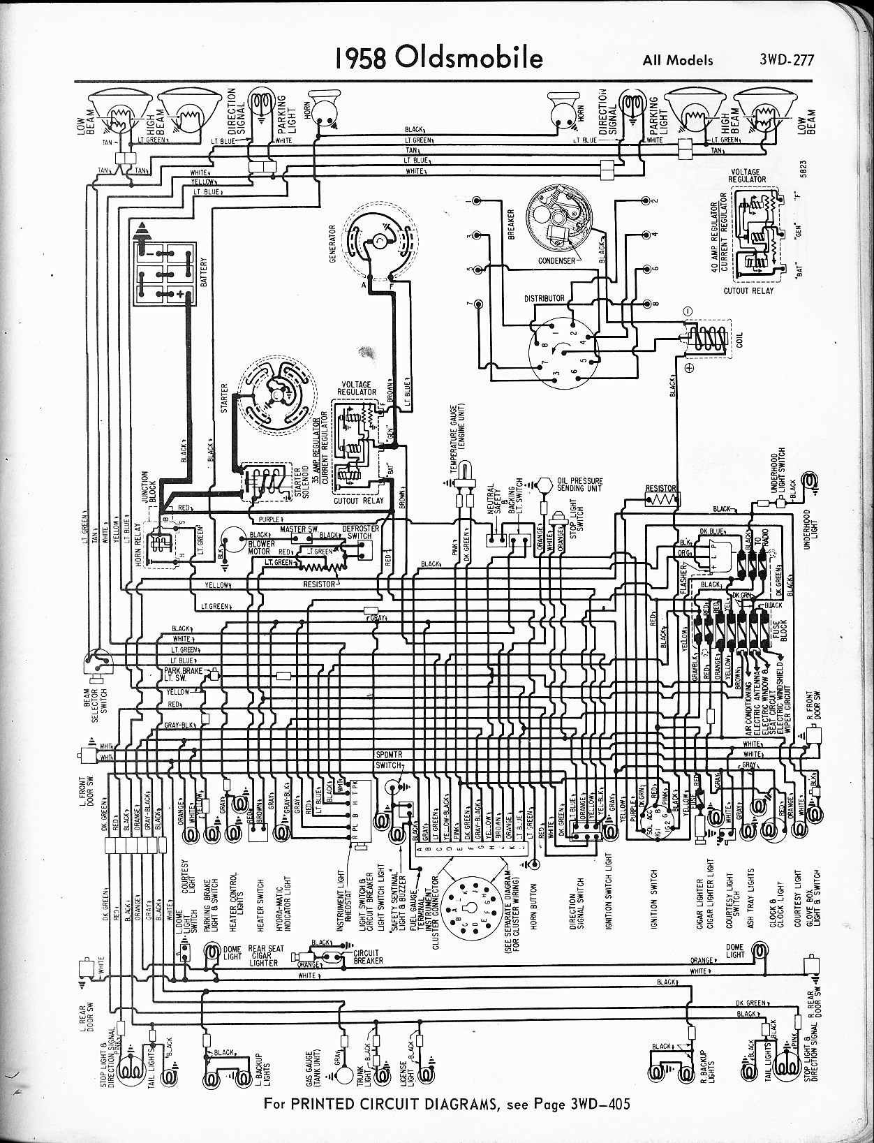 Oldsmobile 88 Wiring Diagram