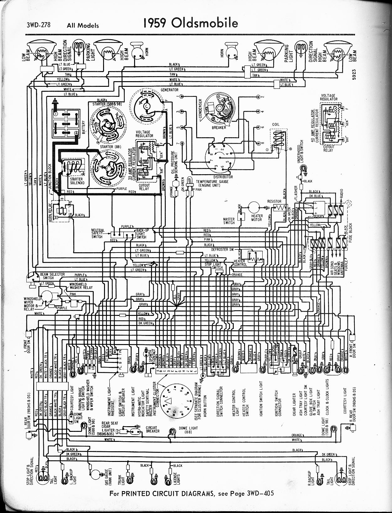 hight resolution of oldsmobile wiring diagrams the old car manual project 1956 oldsmobile 88 wiring diagram 88 olds wiring diagram