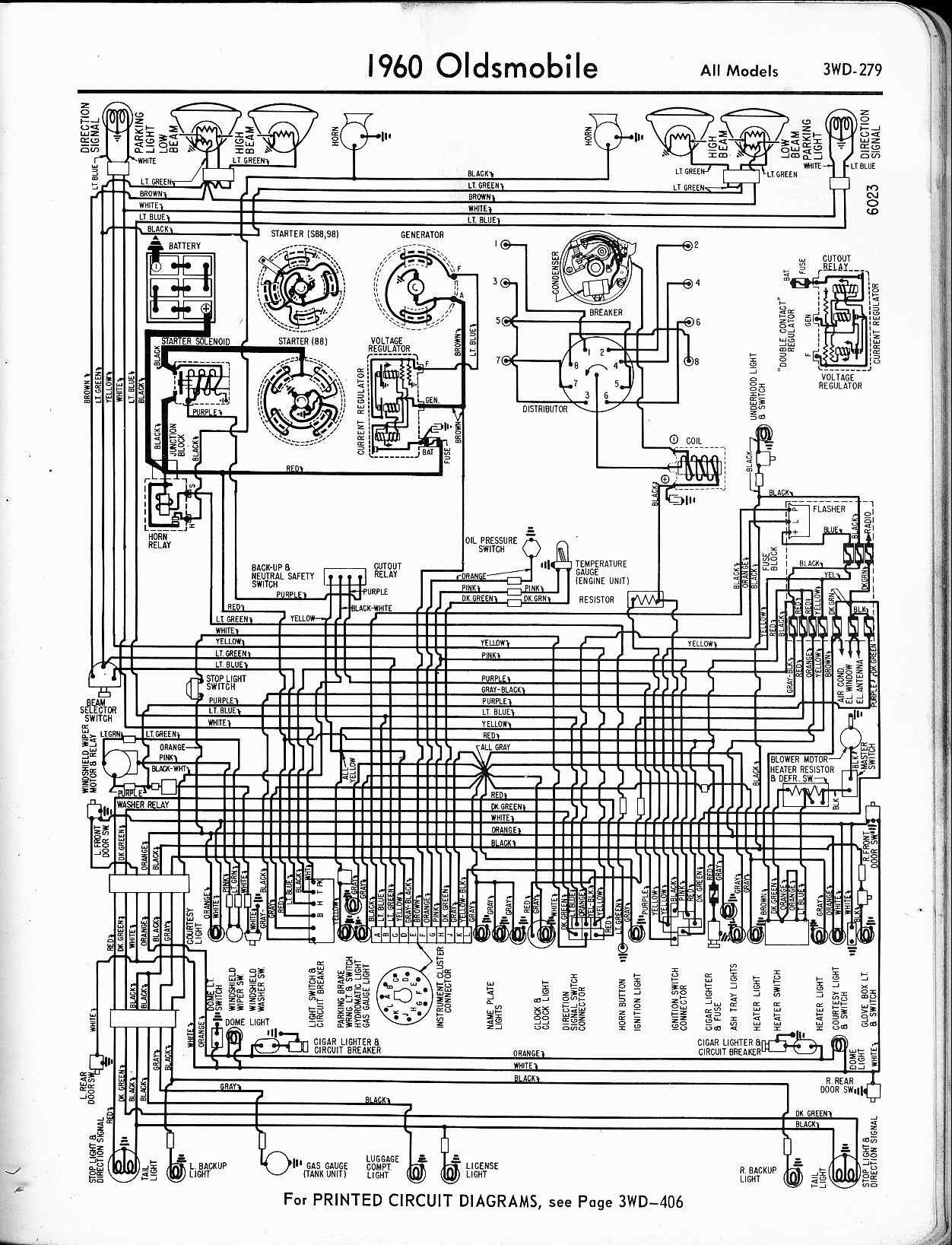 hight resolution of oldsmobile wiring diagrams 1957 1958 1959 1960