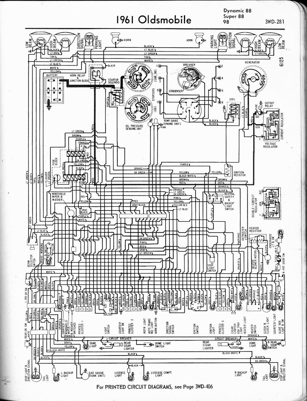 medium resolution of oldsmobile wiring diagrams the old car manual project1962 oldsmobile wiring diagram 6