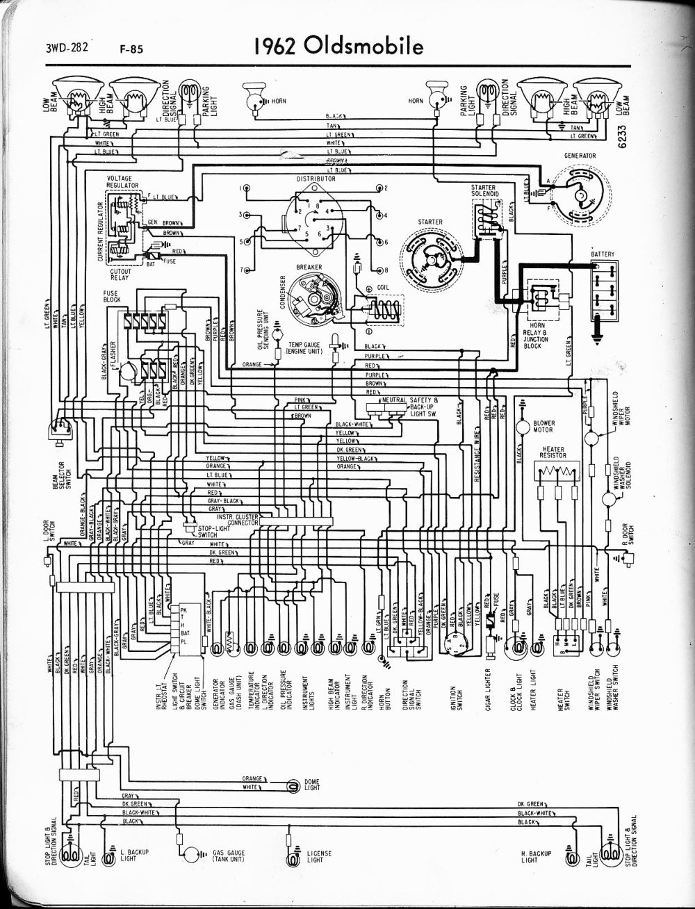 medium resolution of oldsmobile wiring diagrams the old car manual project1962 oldsmobile wiring diagram 2