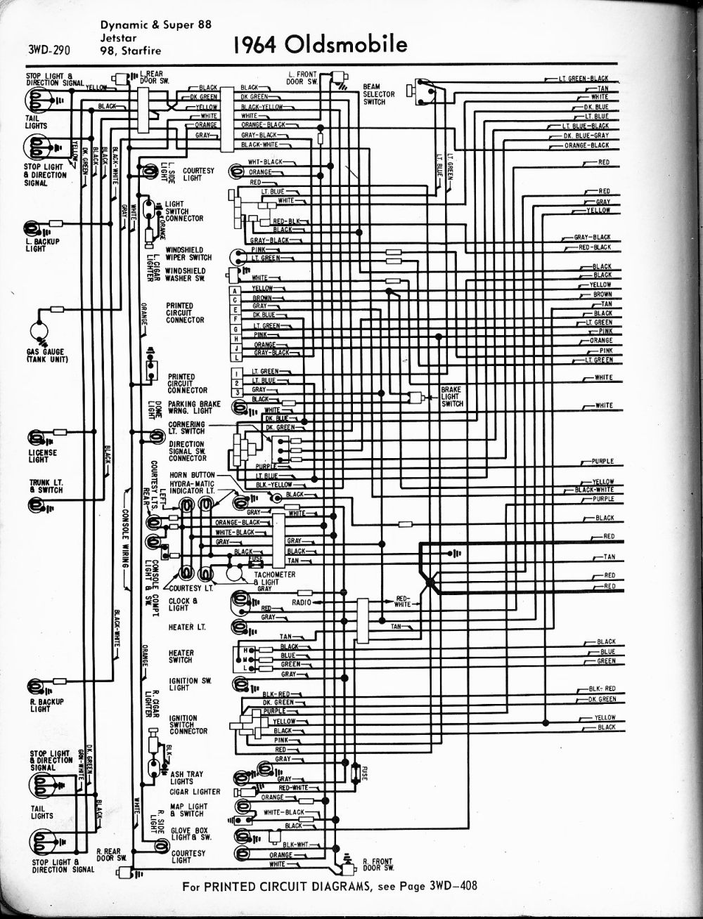 medium resolution of oldsmobile wiring diagrams the old car manual project rh oldcarmanualproject com 1998 oldsmobile cutlass engine diagram