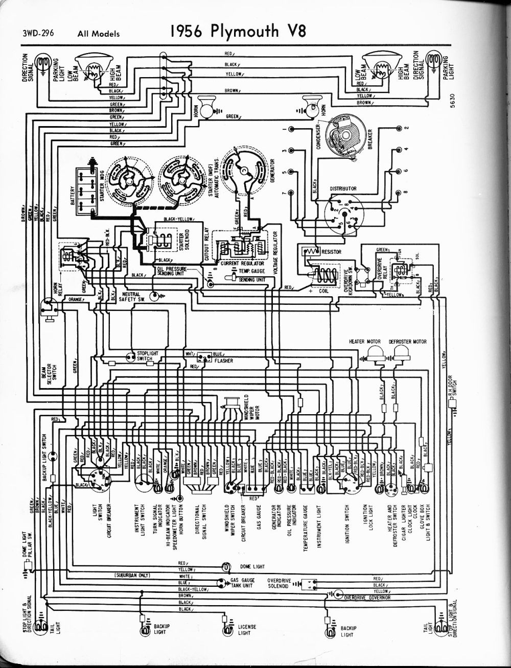 medium resolution of 1954 plymouth wiring diagram wiring diagram query 1954 plymouth wiring diagram