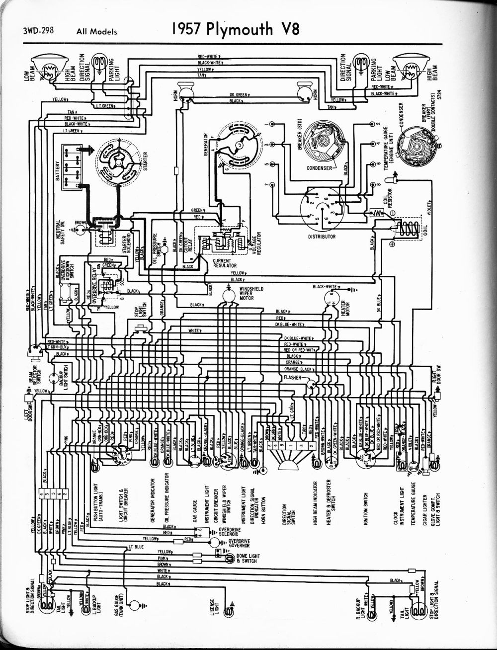 medium resolution of wiring diagrams of 1960 plymouth 6 savoy belvedere and fury wiring 1960 plymouth belvedere wiring