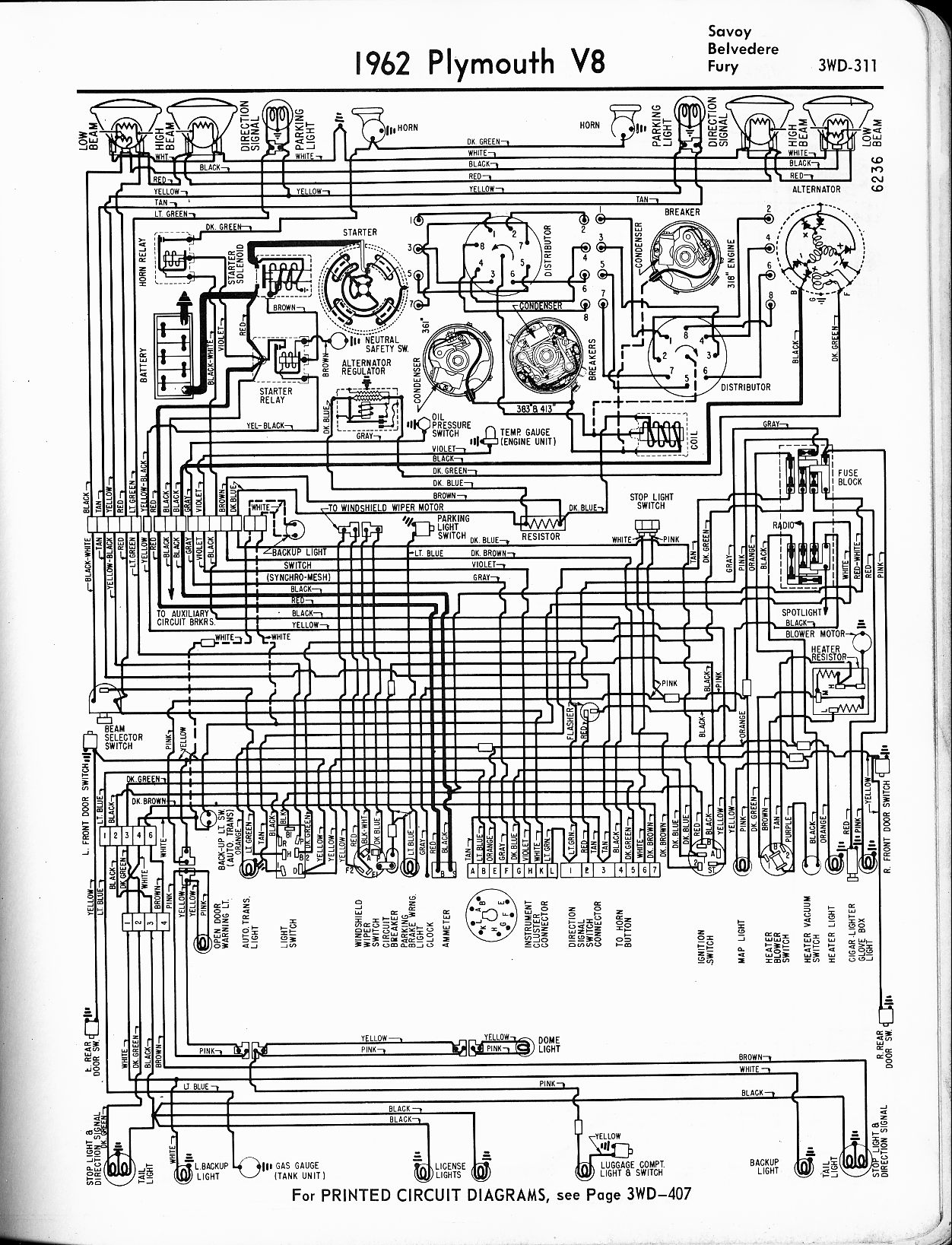 1964 plymouth valiant wiring diagram