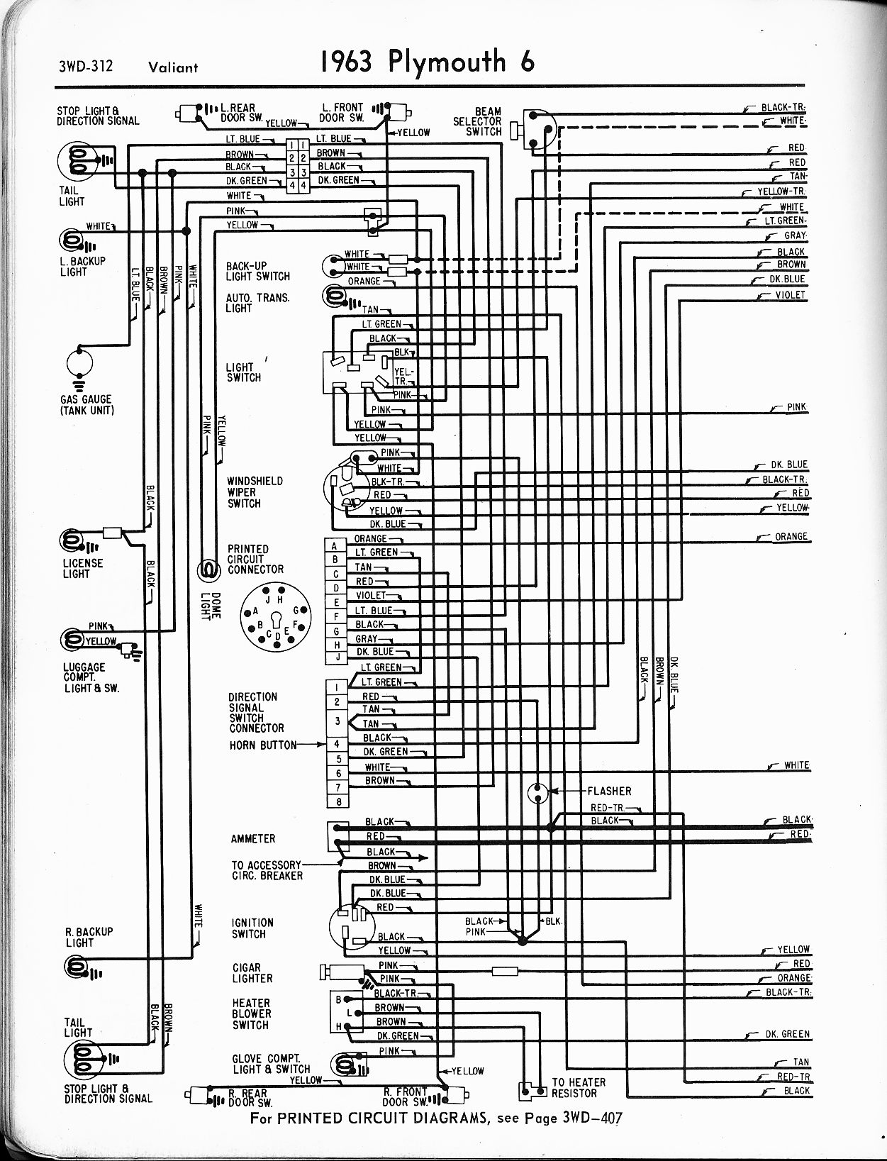 hight resolution of wiring diagrams of 1960 plymouth 6 savoy belvedere and fury wiring 1960 plymouth belvedere wiring