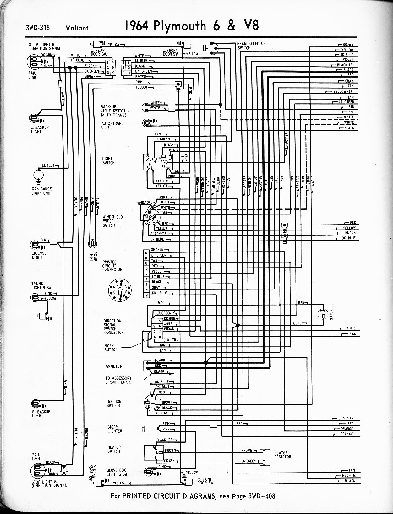 1955 Plymouth Belvedere Wiring Diagram : 38 Wiring Diagram
