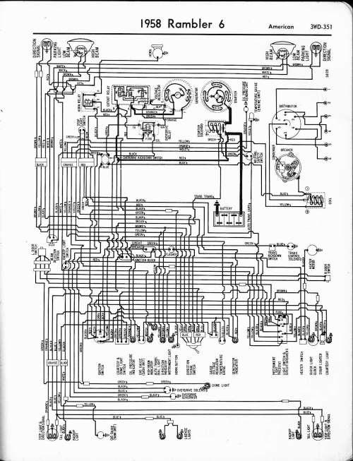 small resolution of rambler wiring diagrams the old car manual project wiring diagrams of 1958 rambler 6 series 5810