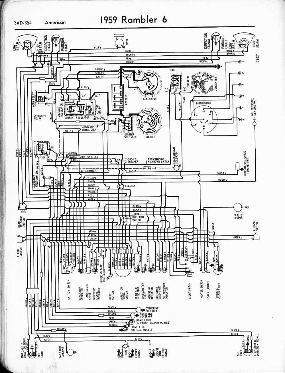 medium resolution of rambler wiring diagrams the old car manual project classic car wiring diagrams vintage car wiring diagrams