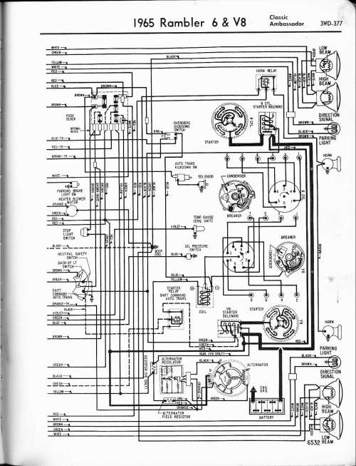 small resolution of 1965 rambler clic wiring diagram wiring diagrams 1967 vw wiring harness 1967 rambler american wiring diagram