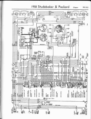 Studebaker wiring diagrams  The Old Car Manual Project