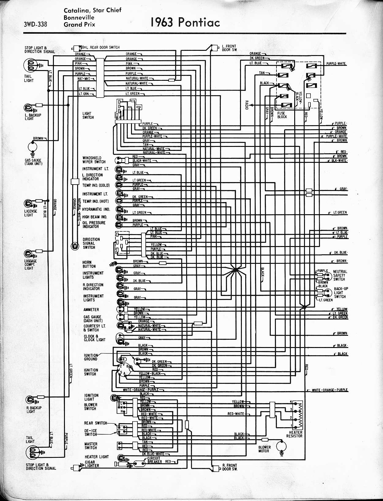 hight resolution of pontiac wiring 1957 1965 rh oldcarmanualproject com 2004 pontiac grand prix wiring diagram wiring diagram