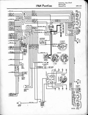 [WRG7916] 1964 Pontiac Catalina Wiring Diagram