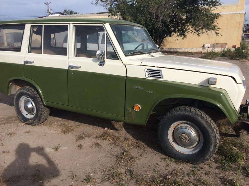 1969 Toyota Land Cruiser Parts