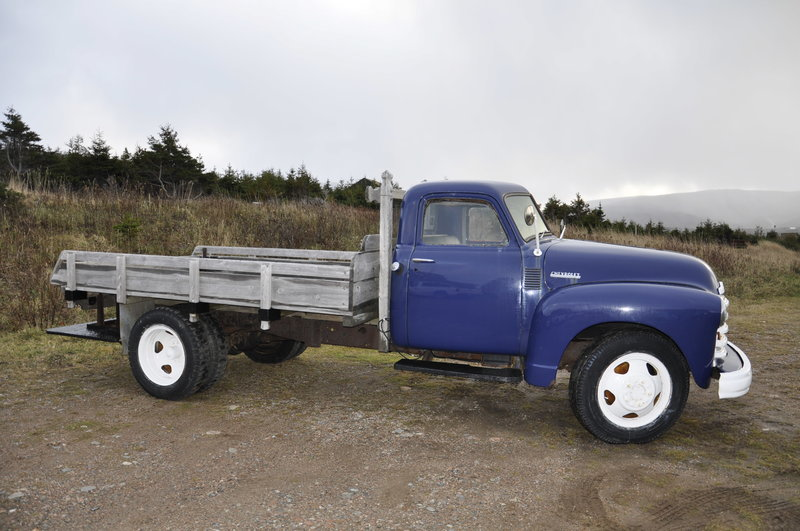 Wiring Harness Restoration 1950 Chevrolet 2 Ton Truck For Sale In Bay St Lawrence