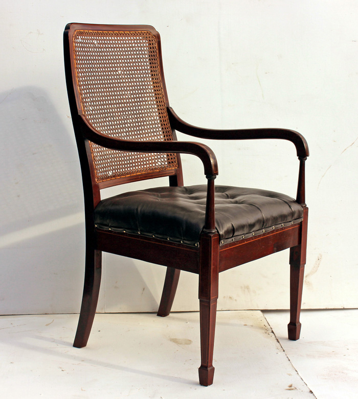 Mahogany Office Chair  OldChairsie