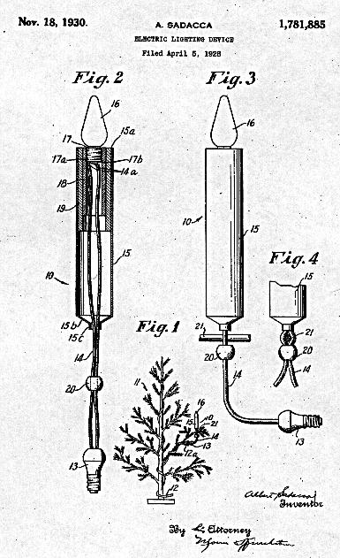 Light Bulb and Light Strand patents