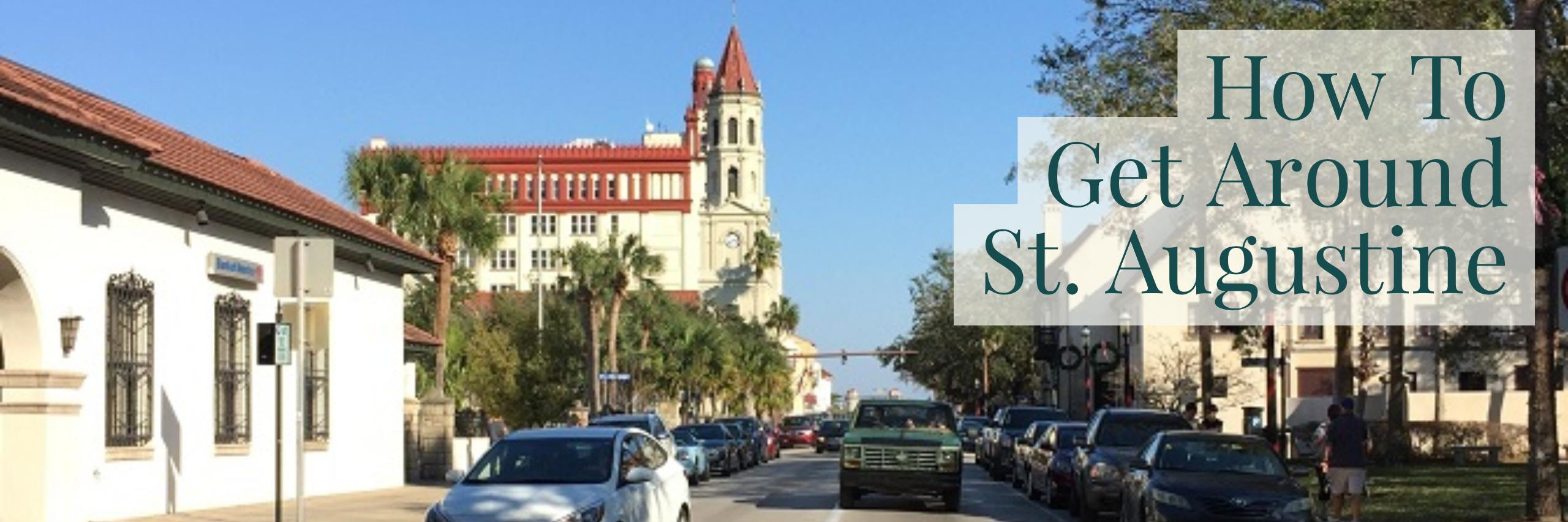 Historic Downtown St Augustine Map